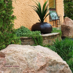 Accent Feature 18 | B. Rocke Landscaping | Winnipeg, Manitoba