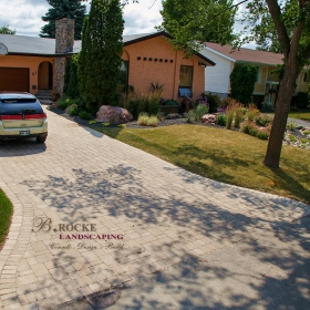 Paver Driveway 7 | B. Rocke Landscaping | Winnipeg, Manitoba
