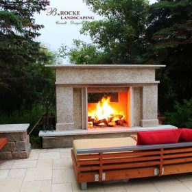 Fireplace 11 | B. Rocke Landscaping | Winnipeg, Manitoba