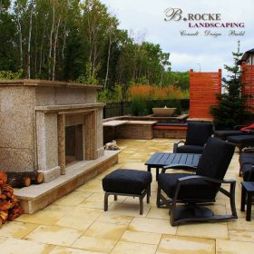 Fireplace 15 | B. Rocke Landscaping | Winnipeg, Manitoba