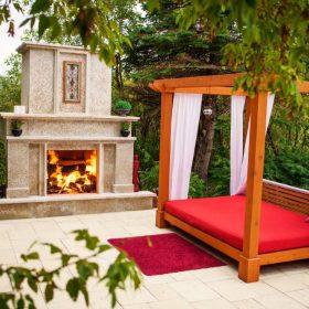 Fireplace 2 | B. Rocke Landscaping | Winnipeg, Manitoba