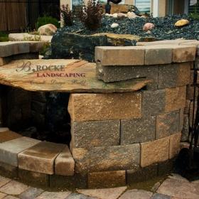 Fireplace 9 | B. Rocke Landscaping | Winnipeg, Manitoba