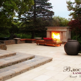 Fireplace 10 | B. Rocke Landscaping | Winnipeg, Manitoba
