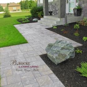 Paver Path 1 | B. Rocke Landscaping | Winnipeg, Manitoba