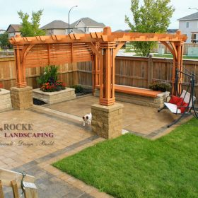 Pergola 21 | B. Rocke Landscaping | Winnipeg, Manitoba