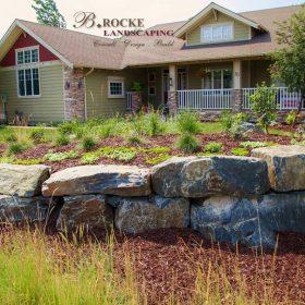 Planter Retaining Wall 24 | B. Rocke Landscaping | Winnipeg, Manitoba