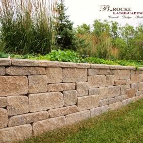 Planter Retaining Wall 5 | B. Rocke Landscaping | Winnipeg, Manitoba