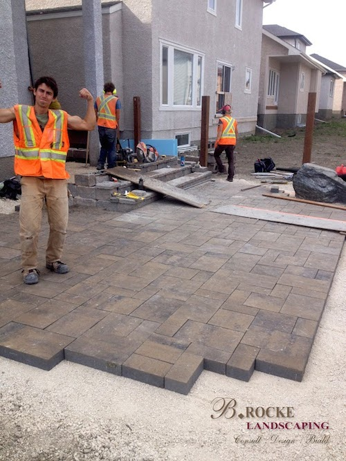 Patio Construction | B. Rocke Landscaping