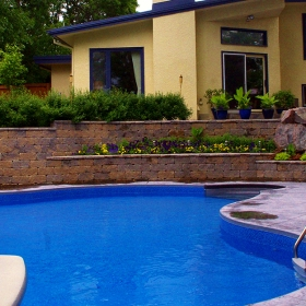 Pool Decks - Landscape Design Gallery | B. Rocke Landscaping