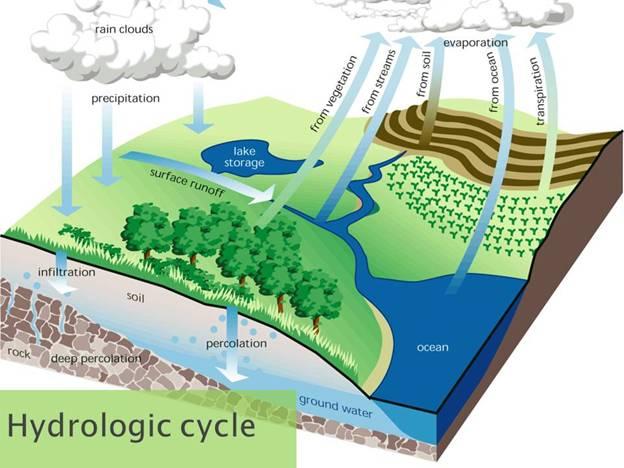 Hydrologic Cycle | B. Rocke Landscaping | Winnipeg, Manitoba