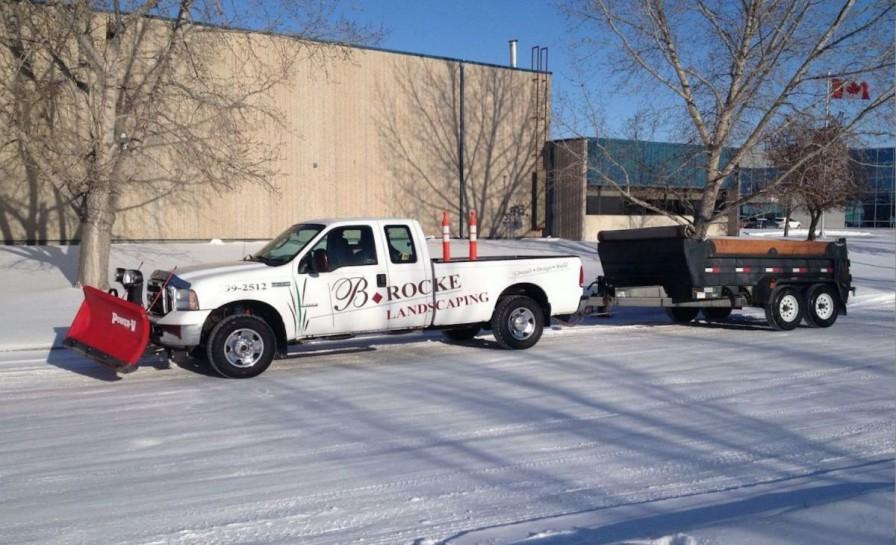 Truck & Trailer | B.Rocke Landscaping |Winnipeg, Manitoba