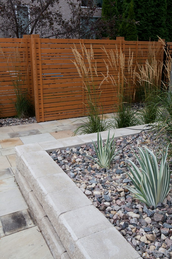 Cedar Privacy Screens | B. Rocke Landscaping | Winnipeg, Manitoba