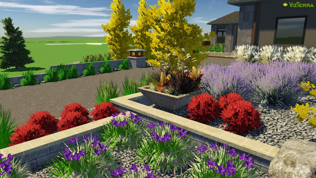 Virtual Rock Garden Planters | B. Rocke Landscaping | Winnipeg, Manitoba