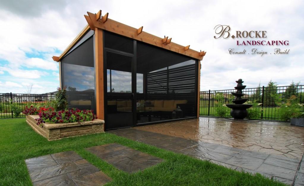 Design Trends | Square Patio | Pergola | B. Rocke Landscaping | Winnipeg, Manitoba