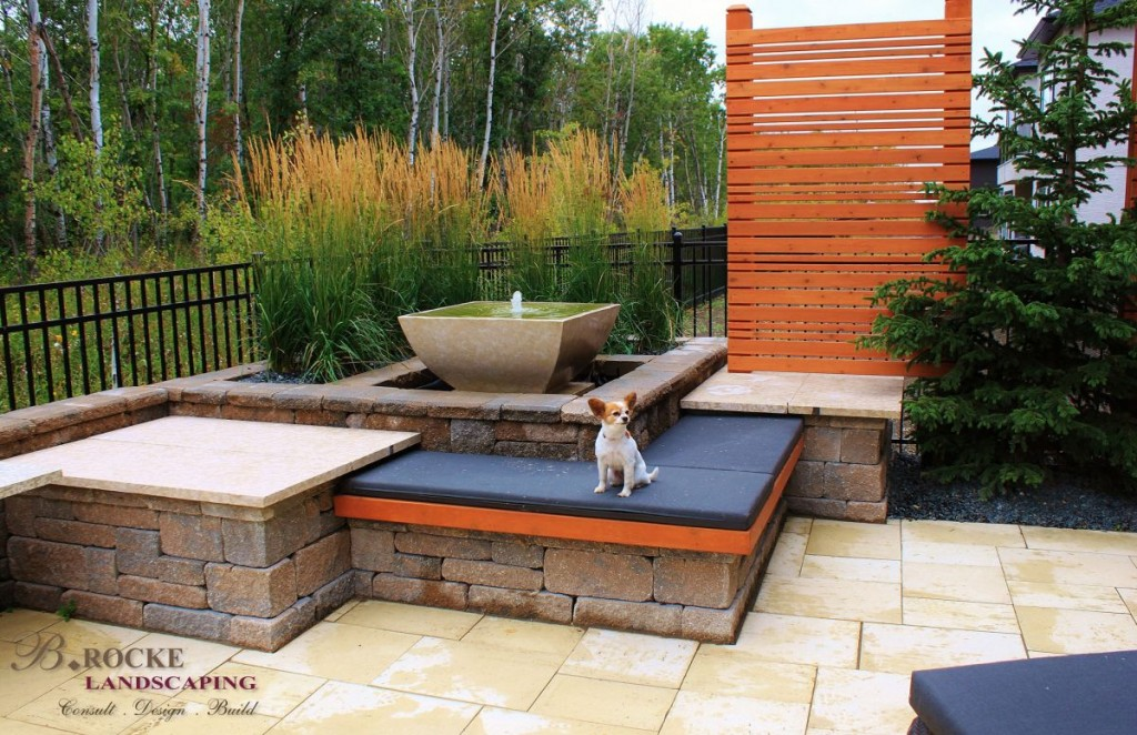 Patio Dog | B. Rocke Landscaping | Winnipeg, Manitoba
