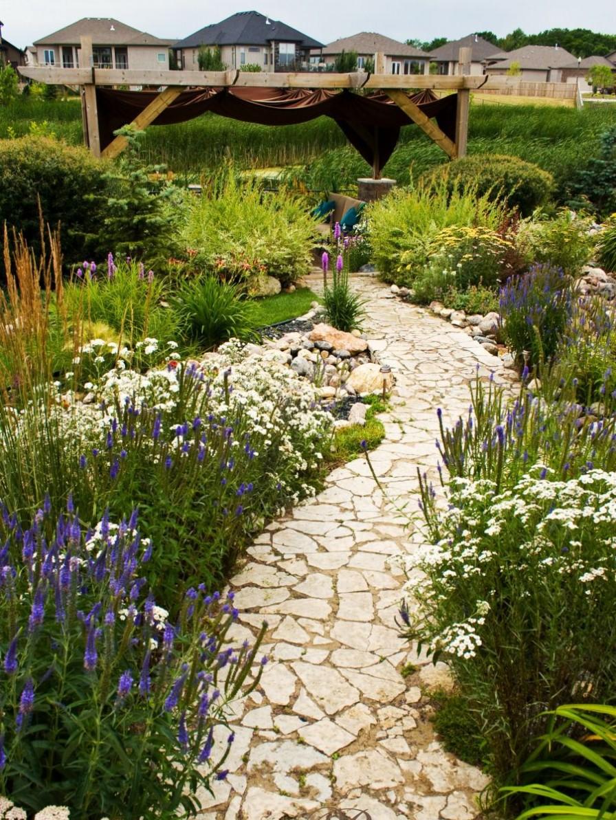 Naturalized Garden   Studio b   Calgary, Alberta